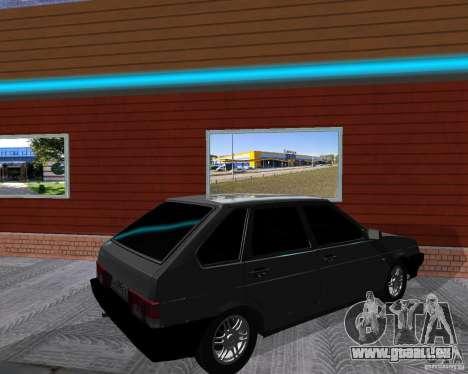 VAZ 2109 Spoutnik pour GTA San Andreas vue de droite