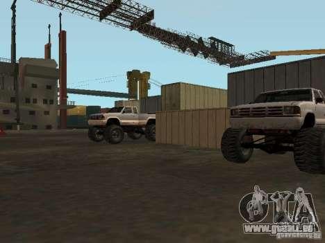 Huge MonsterTruck Track für GTA San Andreas siebten Screenshot