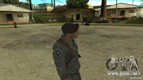 Shepard de CoD MW2 pour GTA San Andreas quatrième écran