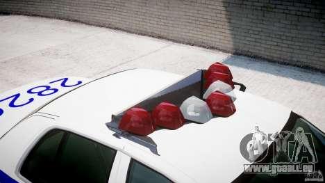 Ford Crown Victoria NYPD pour GTA 4 est une vue de dessous