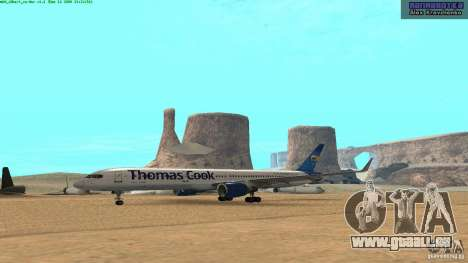Boeing 757-200 Final Version für GTA San Andreas
