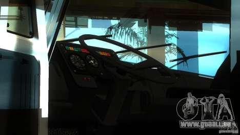 ZIL 5417 SuperZil pour GTA San Andreas vue arrière