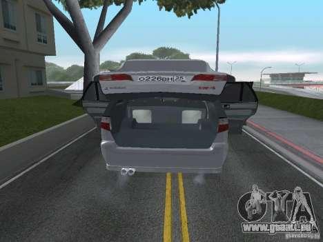 Mitsubishi Legnum pour GTA San Andreas vue arrière