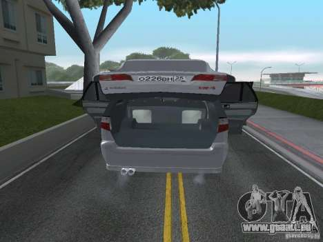 Mitsubishi Legnum für GTA San Andreas Rückansicht