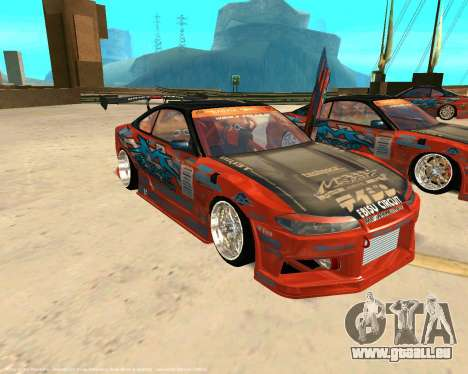 Nissan Silvia S15 Ms Sports für GTA San Andreas