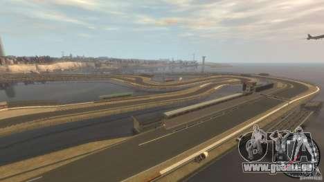 Piste de course pour GTA 4 troisième écran