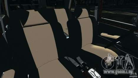 Mercedes-Benz 300Sel 1971 v1.0 pour GTA 4 est une vue de l'intérieur
