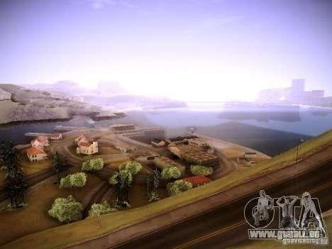 New ENBSeries pour GTA San Andreas deuxième écran