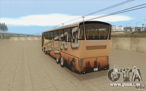 Design-X6-Public Beta pour GTA San Andreas sur la vue arrière gauche