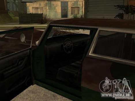 OceanicShit pour GTA San Andreas vue intérieure