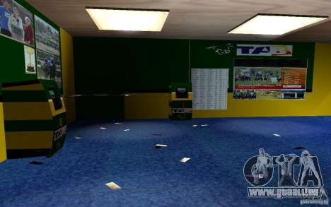 Neues Bukmejkerskaâ-Büro für GTA San Andreas