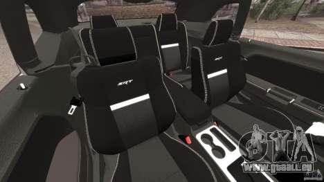 Dodge Challenger SRT8 392 2012 Police [ELS][EPM] pour GTA 4 est une vue de l'intérieur