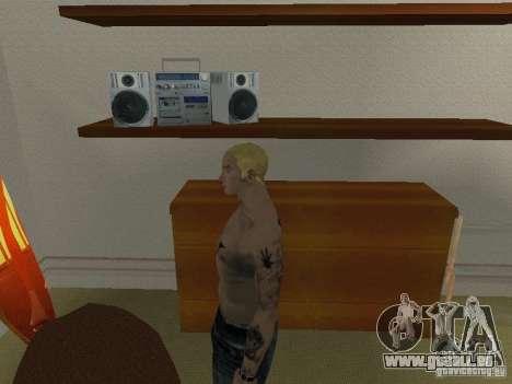 Peau Eminema pour GTA San Andreas cinquième écran