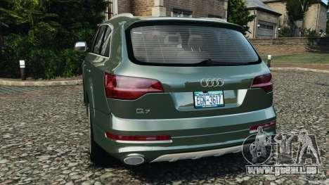 Audi Q7 V12 TDI v1.1 für GTA 4 hinten links Ansicht