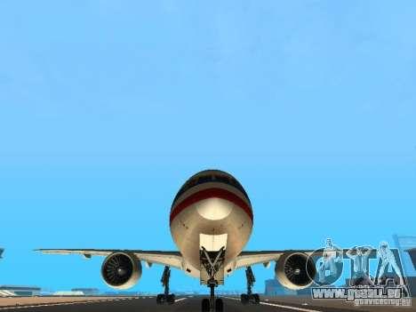 Boeing 777-200 American Airlines pour GTA San Andreas vue de côté