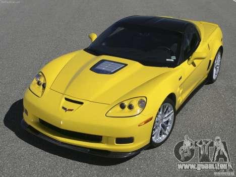 Chargement des écrans Chevrolet Corvette pour GTA San Andreas cinquième écran