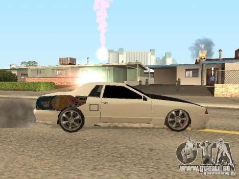 Elégie de Foresto_O pour GTA San Andreas sur la vue arrière gauche