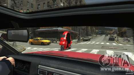 BMW C1 für GTA 4 hinten links Ansicht
