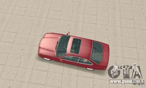 BMW 325i Coupe pour GTA San Andreas sur la vue arrière gauche