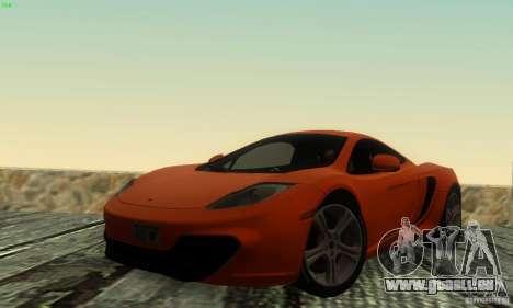 McLaren MP4-12C pour GTA San Andreas