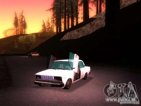 VAZ 2107 Lambo pour GTA San Andreas vue de droite