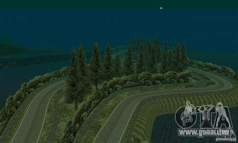 L'itinéraire du rallye pour GTA San Andreas quatrième écran