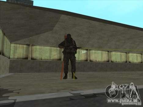 Weapon with laser pour GTA San Andreas deuxième écran