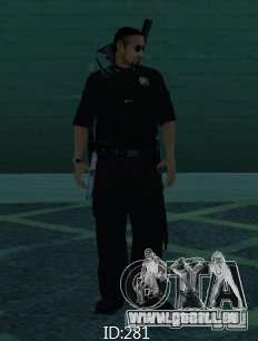 Nouveaux skins SAPD pour GTA San Andreas troisième écran