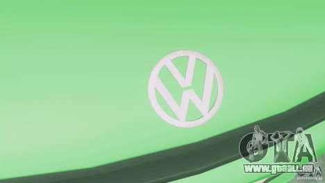 Volkswagen Scirocco pour GTA San Andreas vue arrière