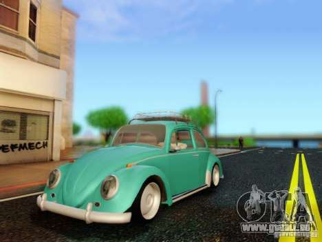 Volkswagen Beetle 1300 pour GTA San Andreas