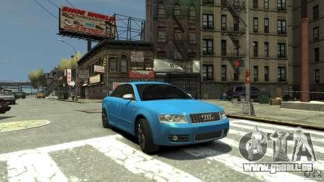 Audi S4 2000 pour GTA 4 est un côté