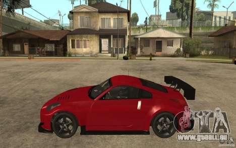 Nissan 350Z Supreme pour GTA San Andreas laissé vue