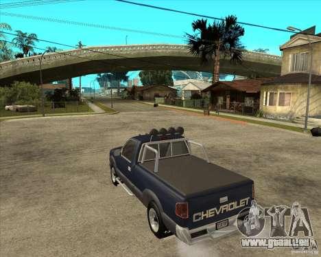1996 Chevrolet Blazer pickup pour GTA San Andreas laissé vue