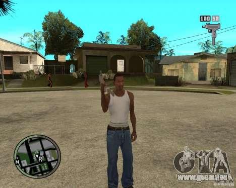 GTA IV HUD pour GTA San Andreas deuxième écran