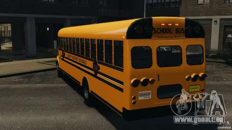 School Bus v1.5 für GTA 4 hinten links Ansicht
