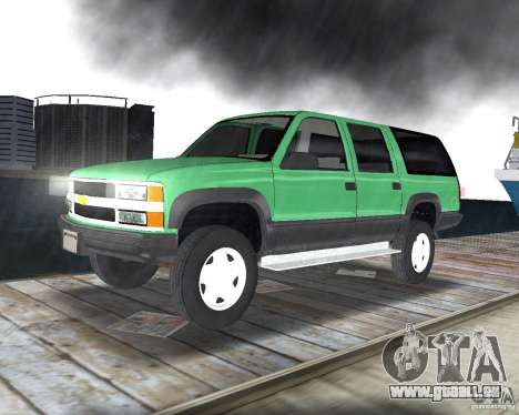 Chevrolet Suburban 1996 für GTA Vice City