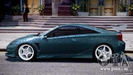 Toyota Celica Tuned 2001 v1.0 für GTA 4 hinten links Ansicht