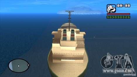 Navires pour GTA San Andreas deuxième écran