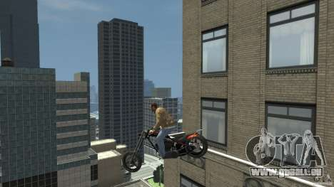 The Lost and Damned Bikes Diabolus für GTA 4 Rückansicht