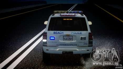 Chevrolet Trailblazer Police V1.5PD [ELS] pour GTA 4 Salon