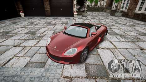 Porsche Carrera GT pour GTA 4 est un droit