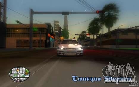 Nissan Silvia S14 pour GTA San Andreas vue de côté
