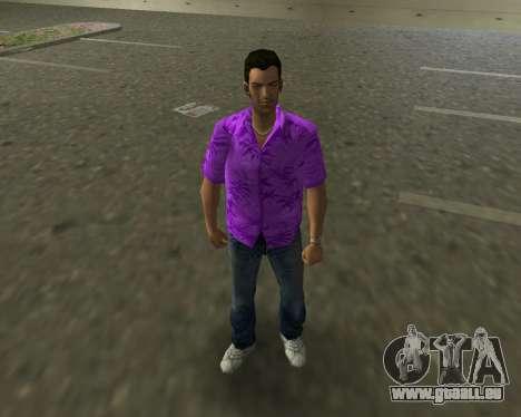 Chemise violette pour GTA Vice City