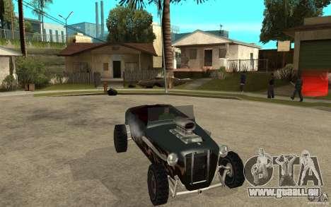 Deuce Brutal Legend pour GTA San Andreas vue arrière