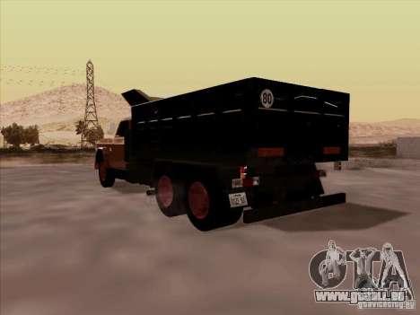 Dodge Dumper pour GTA San Andreas vue de droite