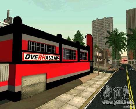OVERHAULIN Workshop für GTA San Andreas