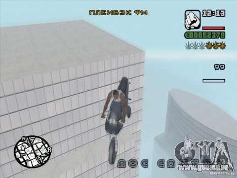 Arrêter le temps pour GTA San Andreas troisième écran