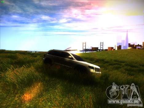 Jeep Grand Cherokee 2012 v2.0 für GTA San Andreas Rückansicht
