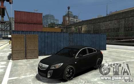 Opel Insignia OPC BETA pour GTA 4