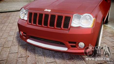 Jeep Grand Cherokee pour GTA 4 est un côté